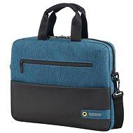 "American Tourister CITY DRIFT LAPTOP BAG 13.3""-14.1"" BLACK / BLUE - Taška na notebook"