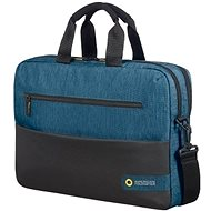 "American Tourister CITY DRIFT LAPTOP BAG 15.6"" BLACK / BLUE - Taška na notebook"