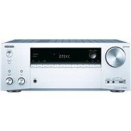 ONKYO TX-NR676E, strieborný - AV receiver