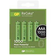 GP Recyko HR03 (AAA) 930 mAh 4ks - Akumulátory