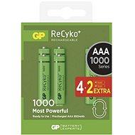 GP Recyko HR03 (AAA) 930 mAh 4 + 2ks - Akumulátory