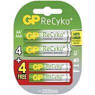 GP ReCyko HR6 (AA) 2000mAh 4 + 4ks - Akumulátory