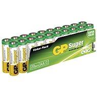 GP Super LR6 (AA) 20 ks v blistri - Batéria