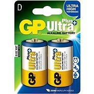 GP Ultra Plus LR20 (D) 2 ks v blistri - Batéria