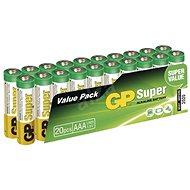 GP Super LR03 (AAA) 20 ks v blistri - Batéria