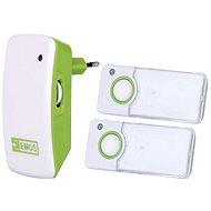 Emos P5741 bielo-zelený - Zvonček