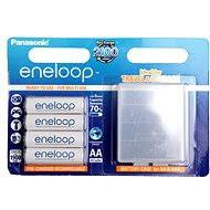 Panasonic eneloop AA 1900mAh 4ks + case - Akumulátory