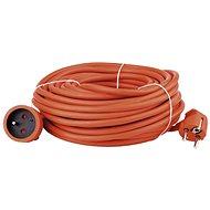 Emos Predlžovací kábel 30 m, oranžový - Napájací kábel