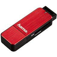 Hama USB 3.0 červená - Čítačka kariet