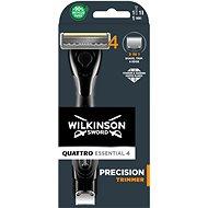 WILKINSON Quattro Titanium Precision + 1 náhradná hlavica - Holiaci strojček