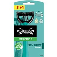 WILKINSON Xtreme3 Sensitive (3 + 1 ks) - Holiaci strojček