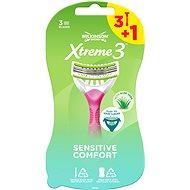 WILKINSON Xtreme3 Beauty Sensitive (3 + 1 ks) - Dámska pohotová holítka