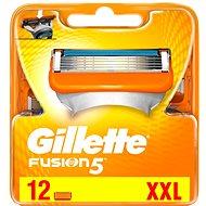 GILLETTE Fusion náhradné hlavice 12 ks - Pánske náhradné hlavice