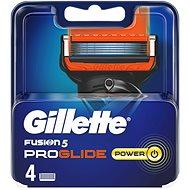 GILLETTE Fusion ProGlide Power náhradné hlavice 4 ks - Pánske náhradné hlavice