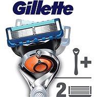 GILLETTE Fusion ProGlide Chrome Flexball + hlavica 2 ks - Holiaci strojček
