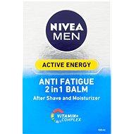 NIVEA MEN Balzam po holení 2v1 Active Energy 100 ml - Balzam po holení