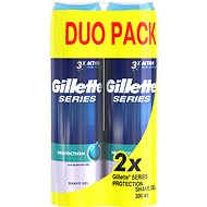 GILLETTE Series Gél Extra Protection 2 × 200 ml - Gél na holenie