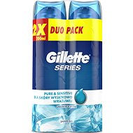 GILLETTE Series Gél Ultra Sensitive 2 × 200 ml - Gél na holenie