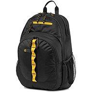 "HP Sport Backpack Black / Yellow 15.6"" - Batoh na notebook"