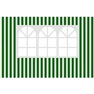 Vetro-Plus Bočnice k záhradnému altánu s oknom, pruhy - Bočnica