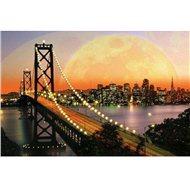 Ravensburger San Francisko v noci 3000 dielikov - Puzzle