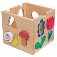 Bino Skladacia krabička - Florell - Didaktická hračka