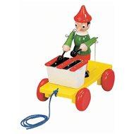 Bino Ťahacie Pinocchio s xylofónom - Ťahacia hračka