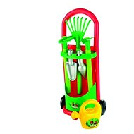 Vozík so záhradným náradím a kanvičkou - Herný set