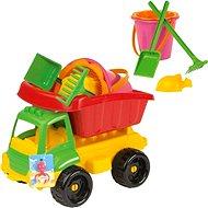 Nákladné autíčko s formičkami - Súprava na piesok