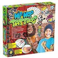 HipHop tetovanie pre chlapcov - Kreatívna súprava