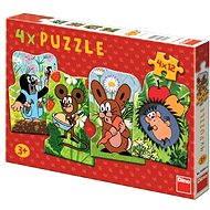 Krtko 4v1 - Puzzle