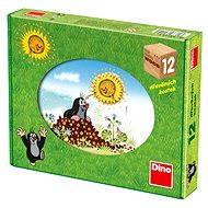 Dino drevené kocky kubus – Krtkov rok - Obrázkové kocky