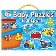 GALT Puzzle pre najmenších - Dopravné prostriedky - Puzzle