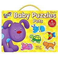 GALT Puzzle pre najmenších - Zvieratá - Puzzle