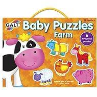 GALT Puzzle pre najmenších - Zvieratká na farme - Puzzle