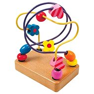 Woody Motorický labyrint - Korálky - hračka