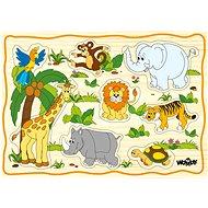 Woody Puzzle na doske – Detské motívy - Puzzle