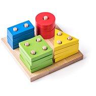 Woody Základné tvary na doske - Didaktická hračka
