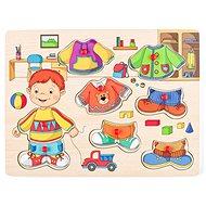Woody Obliekanie na doske - Sebastian - Didaktická hračka