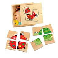 Woody minipuzzle – Lienka - Puzzle