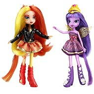 My Little Pony Equestrii girls - DUO Sunset Shimmer a Twilight Sparkle - Bábika