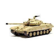 Tank Russian T-72 M1 Desert Yellow 1:72 - RC model