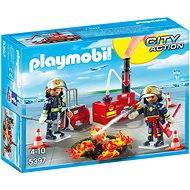 Playmobil 5397 Zásah hasičov s vodnou pumpou - Stavebnica