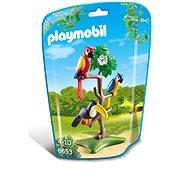 Playmobil 6653 Papagáje a tukan na strome - Stavebnica