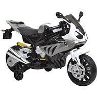 Detská motorka BMW - bielo-šedivá - Elektrická motorka