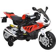 Detská motorka BMW - bielo-červená - Elektrická motorka