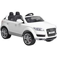 Detské autíčko Audi Q7 - biele - Elektrické auto