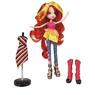 My Little Pony - Equestrii Girls - Bábika s módnymi doplnkami Sunset Shimmer - Bábika