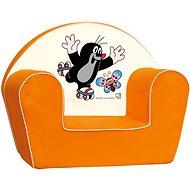 Bino Kresielko oranžové - Krtko - Detský nábytok