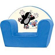 Bino Kresielko modré - Krtko - Detský nábytok